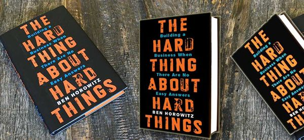 Book review | The hard thing about hard things